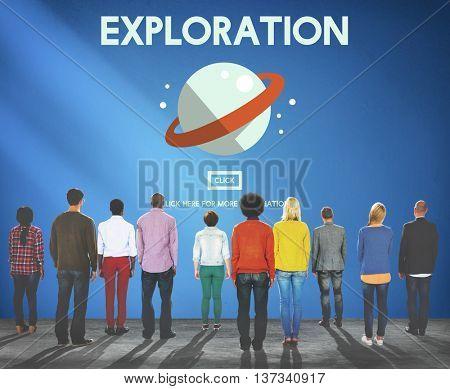Exploration Explore Space Galaxy Astrology Concept