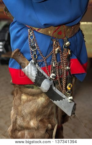 Sami Knife - part of the national costume of the Sami costume