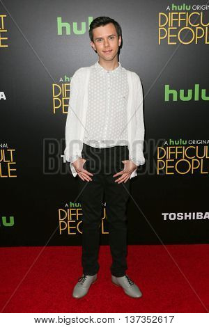 NEW YORK-JUL 30: Actor Cole Escola attends the Hulu Original Premiere of 'Difficult People' at the SVA Theater on July 30, 2015 in New York City.