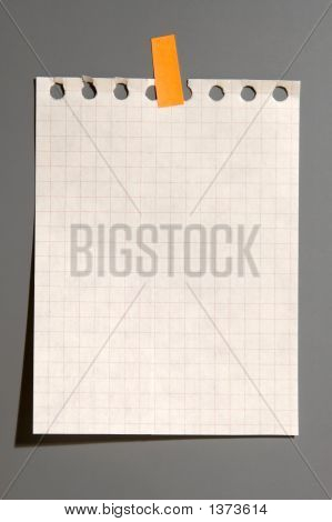 Notebook Page