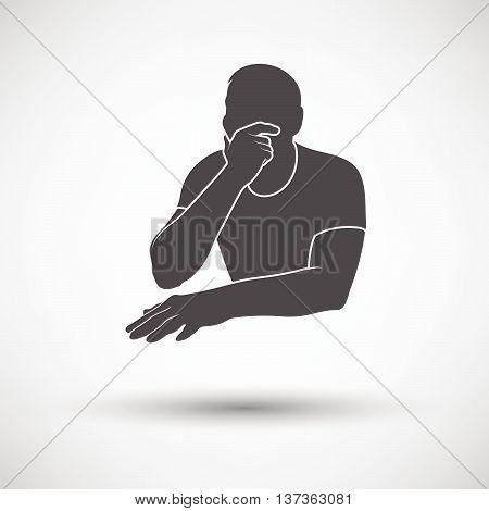 Thinking Man Icon