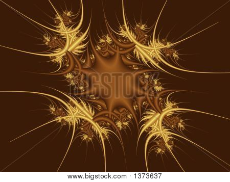 Spiky Abstract Space Being Background - Abstract