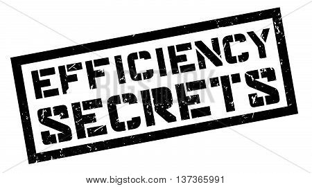 Efficiency Secrets