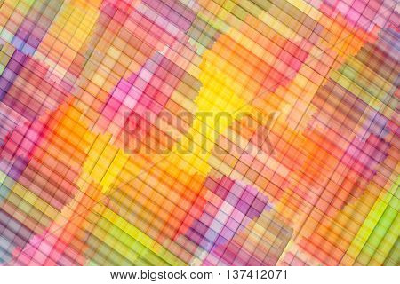 Abstract colorful rainbow background. Reticle multi colored background. Rainbow background.
