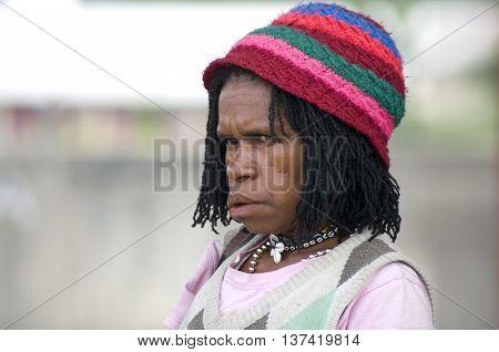 Indonesian Papua Woman