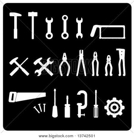 tool icon vector