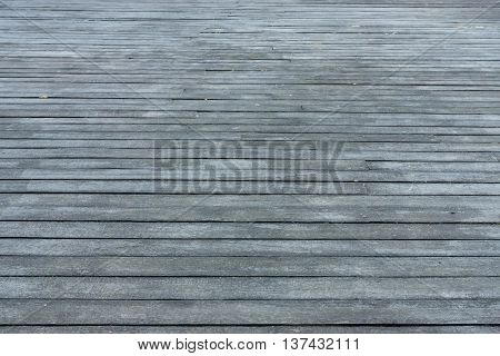 wooden floor from gray boards for the textured and indistinct background