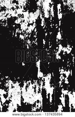 Distress overlay texture for making aged your desin. Grunge background. Empty element. EPS10 vector.