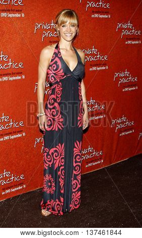 KaDee Strickland at the Season One DVD Launch of 'Private Practice' held at the Roosevelt Hotel's Tropicana Bar in Hollywood, USA on September 2, 2008.