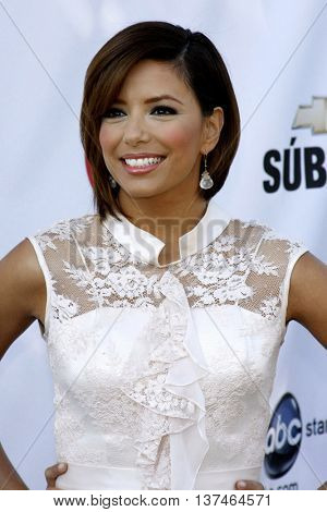Eva Longoria at the 2008 ALMA Awards Nominees Announcement held at the Wisteria Lane, Universal Studios in Hollywood, USA on July 21, 2008.