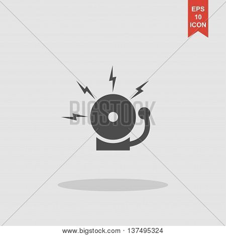 Alarm Bell. Modern Design Flat Style