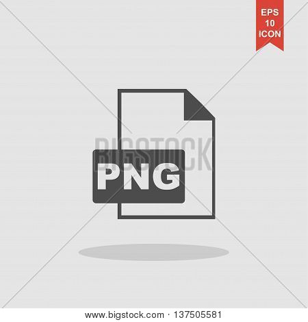 PNG Icon. Vector concept illustration for design. poster