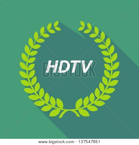 Long Shadow Laurel Wreath With    The Text Hdtv