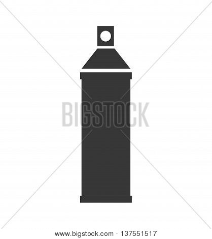 Constuction and repair concept represented by spatula tool icon. isolated and flat illustration
