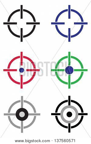 Target Aim Icon sports target military target target computer icon