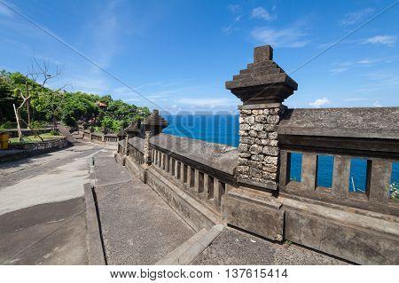 Holiday in Bali, Indonesia - Uluwatu Temple and Beautiful Clif