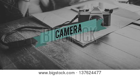 Camera Collect Moments Memory Record Memorize Concept