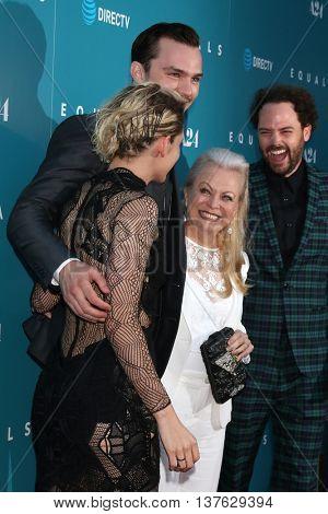 LOS ANGELES - JUL 7:  Kristen Stewart, Nicholas Hoult, Jacki Weaver, Drake Doremus at the Equals LA Premiere at the ArcLight Hollywood on July 7, 2016 in Los Angeles, CA