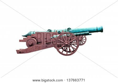 image of canon isolated on white background