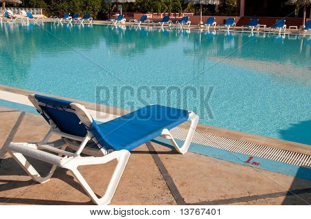 Swimming Pool In All Inclusive Hotel