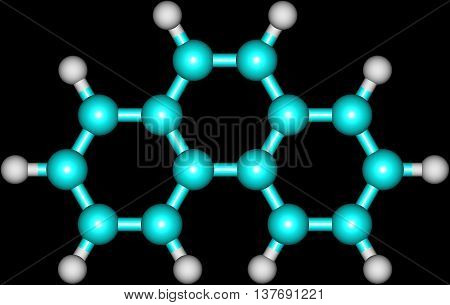 Phenanthrene is a polycyclic aromatic hydrocarbon composed of three fused benzene rings. The name phenanthrene is a composite of phenyl and anthracene. In its pure form it is found in cigarette smoke and is a known irritant photosensitizing skin to light.
