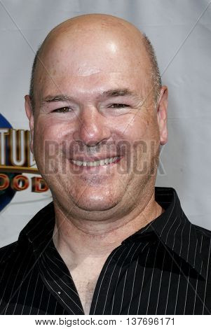Larry Miller at the World premiere of 'Evan Almighty' held at the Universal Citywalk in Universal City, USA on June 10, 2007.