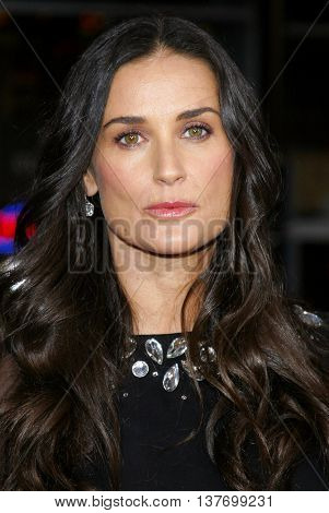Demi Moore at the Los Angeles premiere of 'Mr. Brooks' held at the Grauman's Chinese Theater in Hollywood, USA on May 22, 2007.