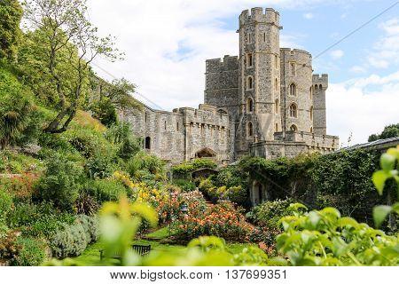 Windsor Castle & Garden in England, United Kingdom