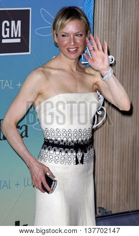 Renee Zellweger at the Women In Film Presents The 2007 Crystal and Lucy Awards held at the Beverly Hilton Hotel in Beverly Hills, USA on June 14, 2007.