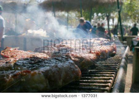 Saturday Bbq Steak