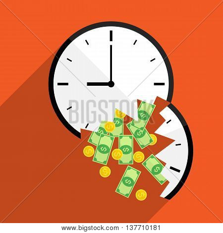 broke time waste money for business use.