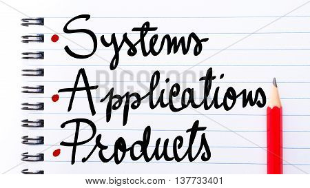 Sap Systems Applications Products