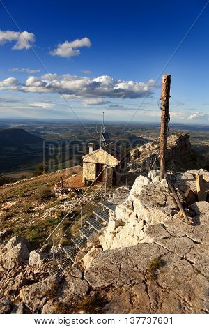 La Picosa peak. Teruel province in Spain