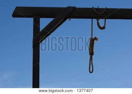 Gallows In Courthouse