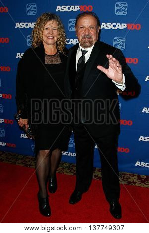 NEW YORK-NOV 17: Singer Felix Cavaliere (R) and wife Donna Lewis attend the ASCAP Centennial Awards at The Waldorf Astoria on November 17, 2014 in New York City.