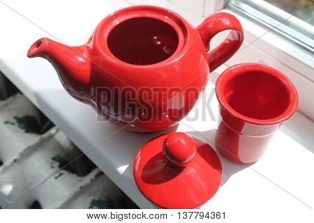red clay teapot for enjoy green tea every time