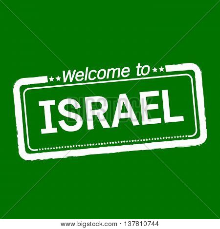 an images of Welcome to ISRAEL illustration design