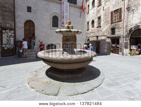 Fountain In The Old Town