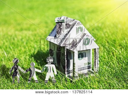 conception on family and homeownership architecture building