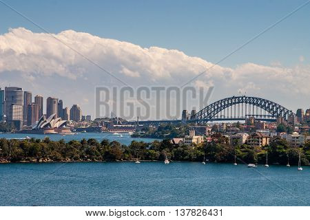 Skyline Of Sidney