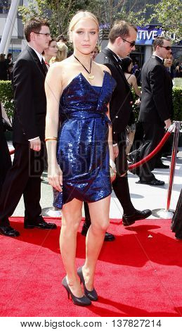 Chloe Sevigny at the 2008 EMMY Creative Arts Awards held at the Nokia Theater in Los Angeles, USA on September 13, 2009.