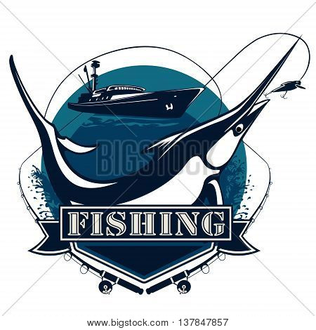 Marlin Logo Blue