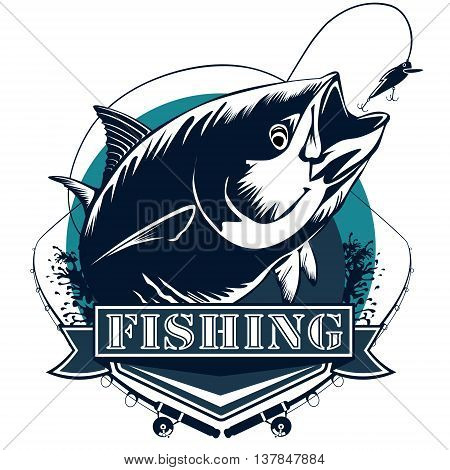 Tuna Logo Blue