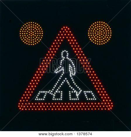 Warning Walking People