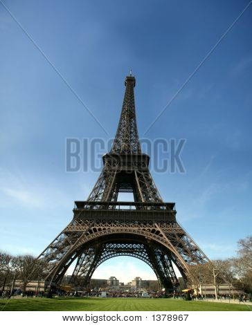 Hd View Of Eiffel Tower - France