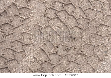 Mud Track Tire Texture