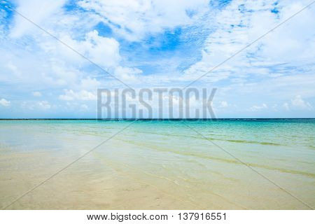 Sea And Sand At Koh Samui,thailand.