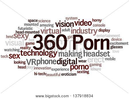 360 Porn, Word Cloud Concept 9