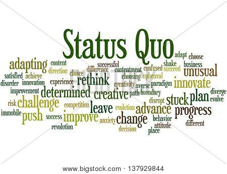 Status Quo, Word Cloud Concept 5