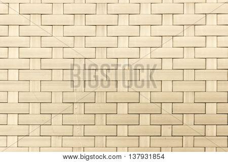 The color cream plastic weaving texture background